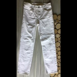 Levi's 314 white Jeans